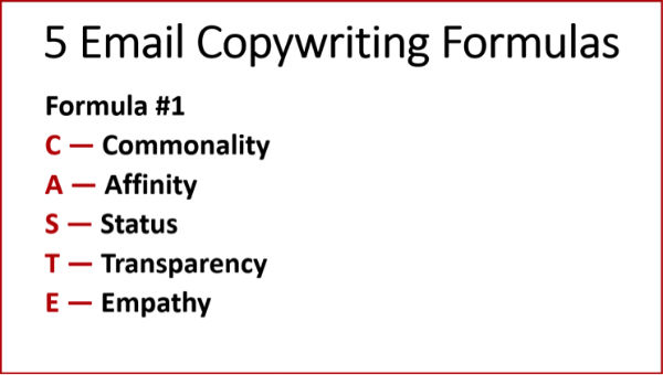 Copywriting Formulas #1