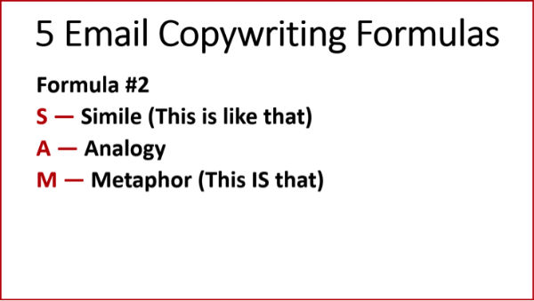 Copywriting Formulas #2