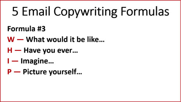 Copywriting Formulas #3