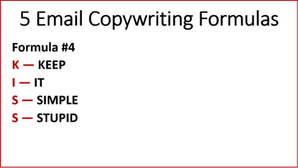 Copywriting Formulas #4