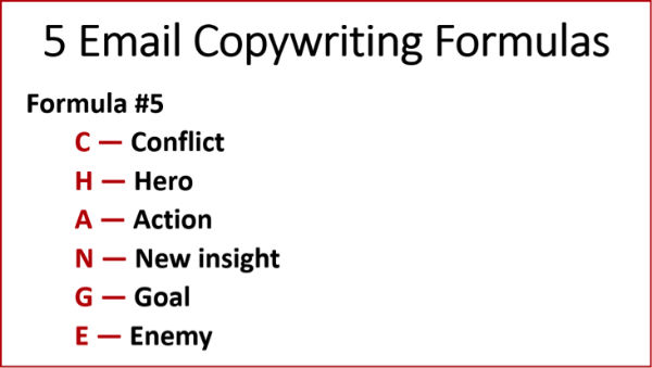 Copywriting Formulas #5