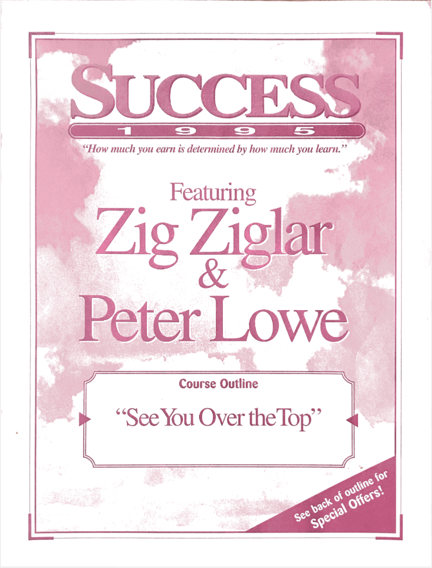Peter Lowe's Success 1995
