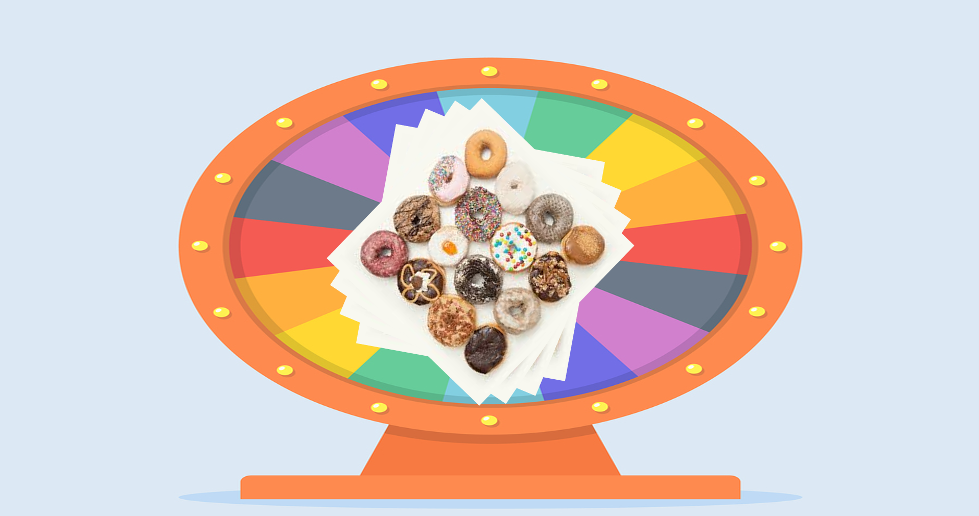 Doughnut Wheel