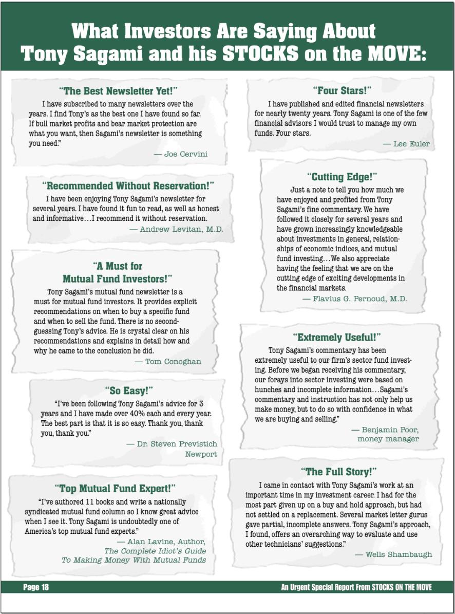 Powerful Testimonials