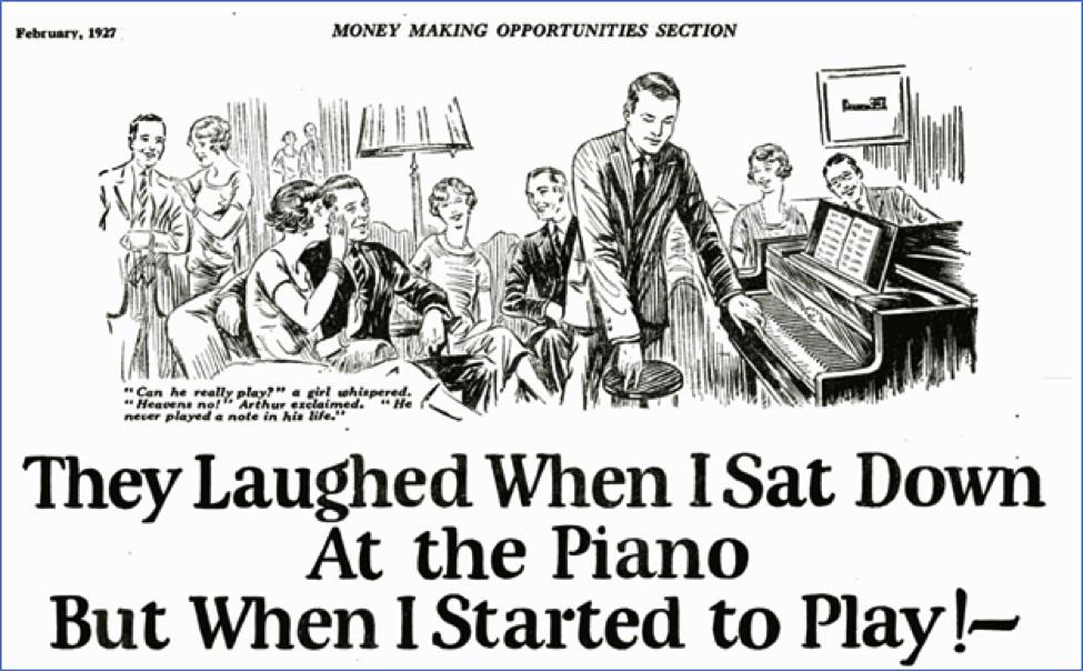 They Laughed When I Sat Down At The Piano...